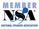 National Speakers Association Member logo